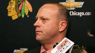 If Stan Bowman spent Wednesday on the golf course instead of on the telephone, all I can say is I hope he broke 90.