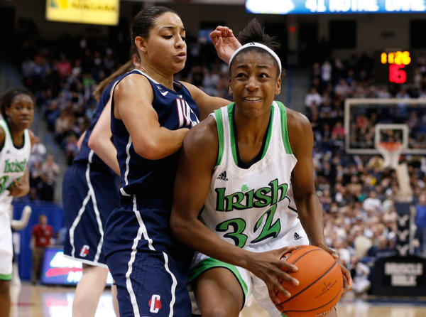 Jewell Loyd and the Fighting Irish have already had major battles against UConn this season.