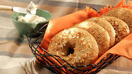 "Ever thought homemade bagels were possible? And great bagels at that? They are, and Peter Reinhart wrote a great story for Food to <a href=""http://www.latimes.com/features/la-fo-bagelmake12-2008nov12,0,6371921.story"" target=""_blank"">share his secrets</a>:"