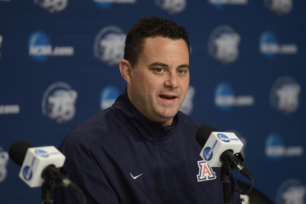 Arizona coach Sean Miller was the alleged target of a bounty scandal in the Pac-12.