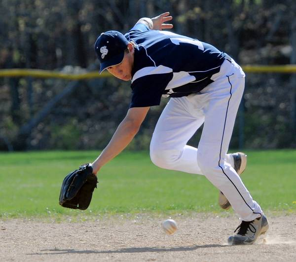 Salisbury's Justin Aungst is the high school player of the week.