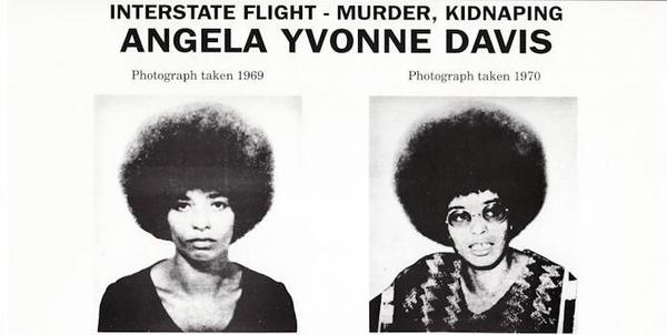 Angela Davis Most Wanted Poster, 1970.
