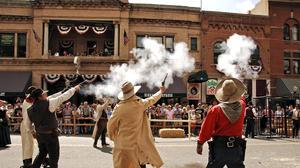 Looking for cowboys in Prescott, Ariz.