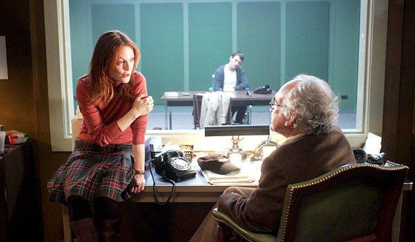 "Julianne Moore, Jonathan Rhys Meyers and Jeffrey DeMunn in ""6 Souls."""