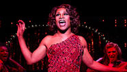 """Kinky Boots,"" a new Broadway musical about a sole-saving drag queen, high-stepped Thursday night into the Al Hirschfeld Theatre."