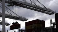 WASHINGTON -- The U.S. trade deficit narrowed in February, driven by a drop in crude oil imports and an increase in American goods and services exported abroad, the Commerce Department said Friday.