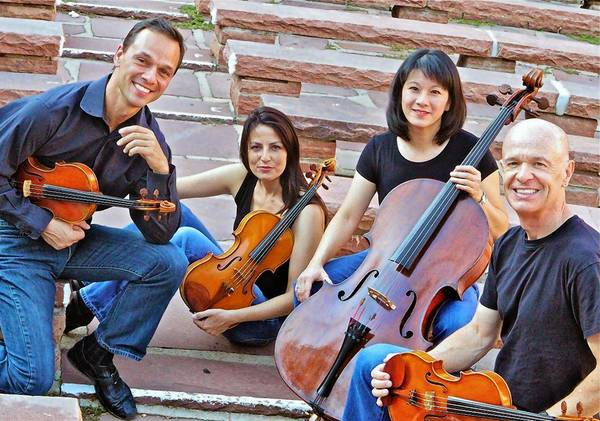 The Carpe Diem String Quartet will perform Sunday in Mount Dora.