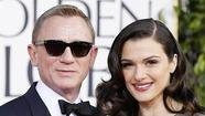 Actor Daniel Craig and his wife, actress Rachel Weisz