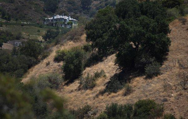 Five hikers have been missing in Eaton Canyon since Thursday morning.