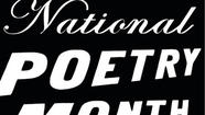 Poetry month in full swing