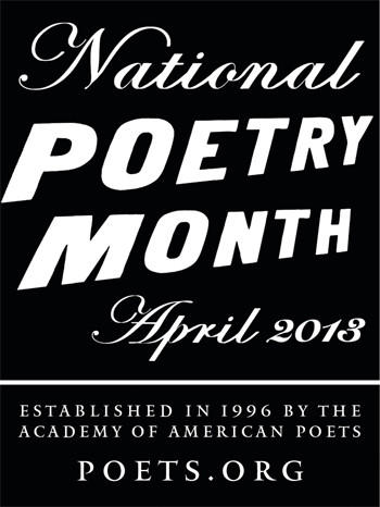 Poets across the country celebrate in April