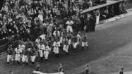 Opening Day at Wrigely Field 1933