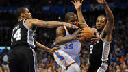 San Antonio Spurs at Oklahoma City Thunder