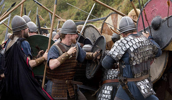 "A battle rages in ""Vikings."" (History)"