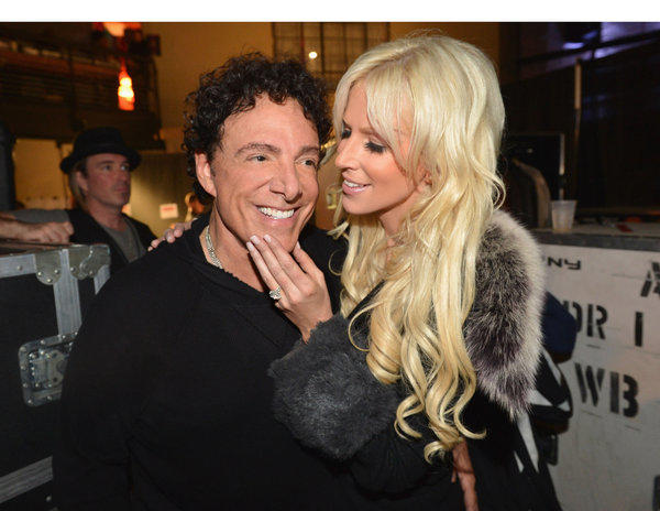 Journey guitarist Neal Schon and Michaele Salahi