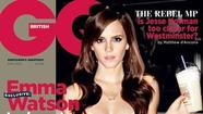 Emma Watson covers GQ as racy 'Bling Ring' character