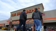The Home Depot USA has agreed to pay $8 million to settle a lawsuit alleging violations of anti-pollution rules and laws prohibiting false and misleading advertising in connection with sales of paints and other coatings containing illegal smog-forming ingredients, air quality officials said.