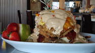 "Hash House A Go Go, a new restaurant at 5350 International Drive in Orlando will have a ribbon cutting April 10 with Orlando Mayor Buddy Dyer and Commissioner Samuel B. Ings.  After that the eatery -- which is part of a chain with restaurants in Las Vegas, Reno and Chicago -- will be open for private dining for ""friends and family.""<strong> At 9 a.m. April 16, Hash House A Go Go opens to the public.</strong>"