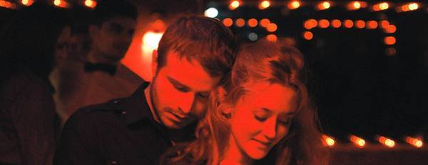 "Brady Corbet and Constance Rousseau in ""Simon Killer."""
