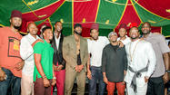 New photos from Chris Bosh's Moroccan birthday bash