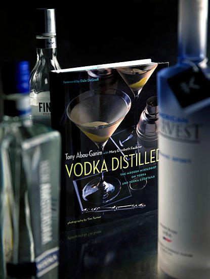 To defend vodka's honor, author Abou-Ganim has written a book on vodka and vodka cocktails, which illuminates the essence of the classic pour.