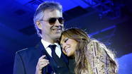 "Jennifer Lopez used to judge on ""American Idol."" Now she's going to sing with Andrea Bocelli on ""Dancing With the Stars."""