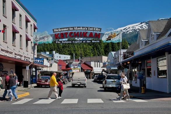 Ketchikan is one of the stops on a cruise of Alaska's Inside Passage.