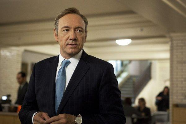 "To binge, or to nibble, that is the question. Kevin Spacey stars in ""House of Cards."""