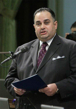 Assembly Speaker John Perez (D-Los Angeles).
