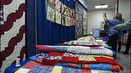 "Hundreds made their way to the Star Quilters Guild's quilt show. This year's theme is ""Celebrating Quilting.""  ""I started sewing as a little girl, then it just morphed into quilting,"" said quilter Judy Bradley."