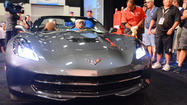 No stranger to auctioning off rare cars for charity, Barrett-Jackson on Friday afternoon sold the world's first 2014 Chevrolet Corvette Stingray convertible for $1 million, including commission.