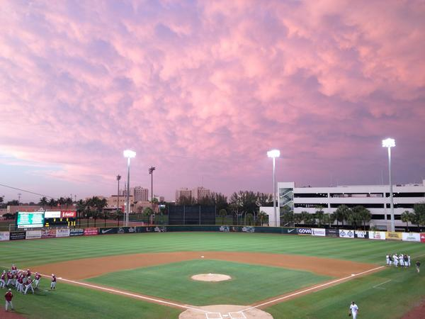 Miami baseball to play FSU at 8:20 p.m. Friday in Coral Gables.