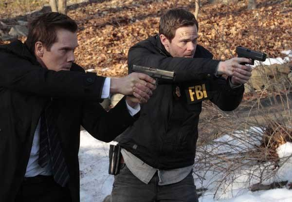 "Not Fully Recovered Weston (Shawn Ashmore, right) is back in action on a new episode of ""The Following"" at 9 p.m. on Fox. With Kevin Bacon."