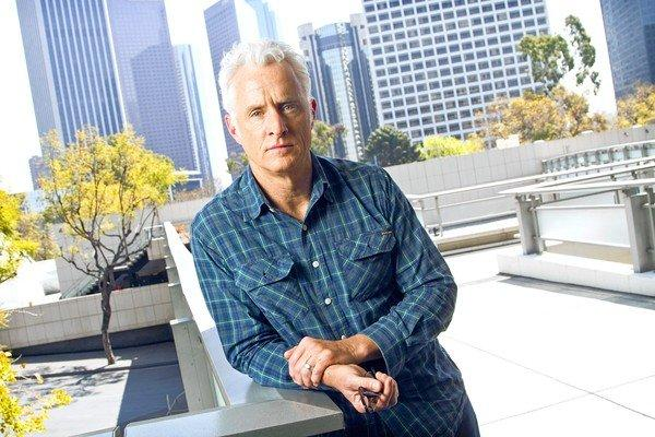 """John Slattery plays the colorful Roger Sterling in """"Mad Men."""""""