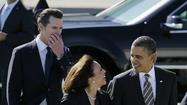 "President Obama in no way mean to ""diminish"" California Atty. Gen. Kamala Harris' credentials when he described her as ""by far the best-looking attorney general in the country"" during a talk, his spokesman said Friday."
