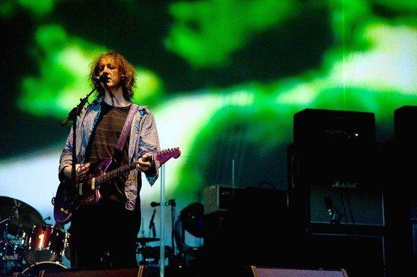 Kevin Shields of My Bloody Valentine performs at the Coachella Festival in April 2009.