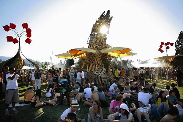 The Do Lab is a place for music, performance, shade and water at the 10th annual Coachella Music and Arts Festival in Indio on April 18, 2009.
