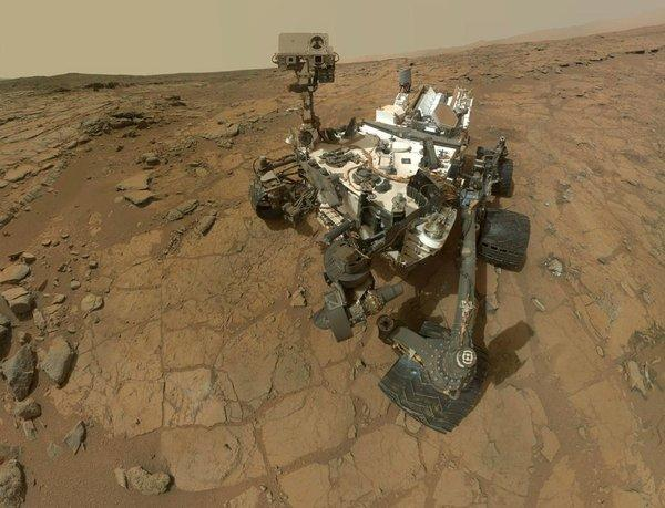 NASA's Curiosity rover is taking a month-long break during solar conjunction, when the sun blocks easy communication to Mars. Engineers won't interact with it every day until May.