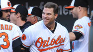Orioles first baseman Chris Davis has been here before, with fans screaming his name and his teammates shaking their heads at his latest incredible power display.