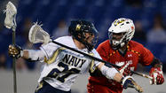 No. 4 Maryland avoids upset with 11-8 win over Navy