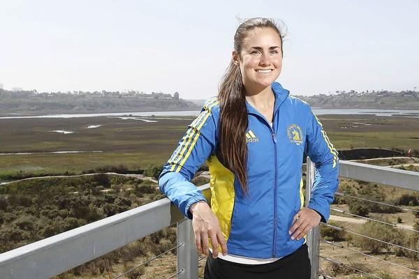 Melissa Mead, 23, a former Newport Harbor High and UC Irvine runner, will be competing in the Boston Marathon on April 15. She qualified for the Boston Marathon by finishing under the qualifying time at last year's OC Marathon. It was her first time competing in a marathon.