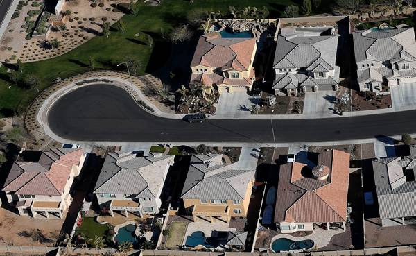 A housing development in Mesa, Ariz., last month. Research has found that only 1 in 20 houses will sustain a major structural hit over its lifetime, but 1 in 4 will experience some structural distress.