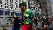 Streets downtown will be closed and crowded this morning thanks to the 34<sup>th</sup> running of the Bank of America Shamrock Shuffle, the first big running event of the year.