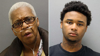 Grandmother, grandson charged in killing of grandfather