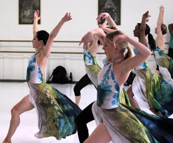 'Havana Blue' rehearsal