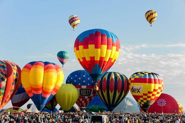 Enjoy the Albuquerque Balloon Fiesta, including a mass farewell ascension, on this eight day trip from AAA Travel.