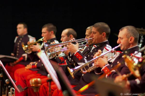 Military bands are a big component of the Virginia International Tattoo, part of the Virginia Arts Festival each year.