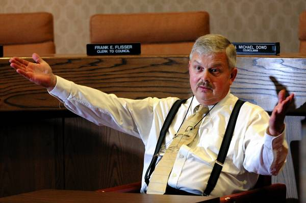 "After losing his seat on Northampton County Council, Ron Angle has found a political home on the Upper Mount Bethel Planning Commission, where, he says, ""I can help people."""