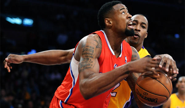 Clippers center DeAndre Jordan leads the NBA with a 64.1 field-goal percentage.