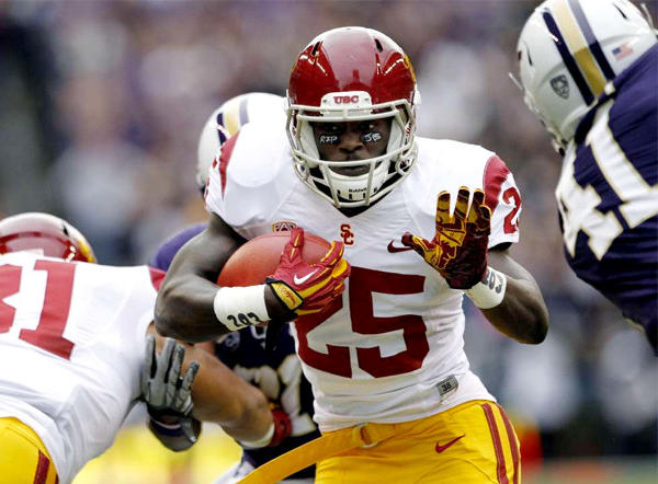 Silas Redd, USC's 2012 rushing leader, could be challenged by freshman Justin Davis.